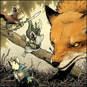 David Petersen's Mouse Guard