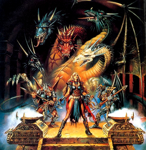 Dragons of Triumph Clyde Caldwell
