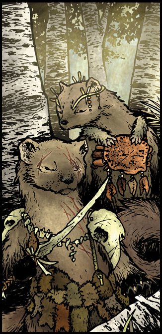 Fishers Mouse Guard