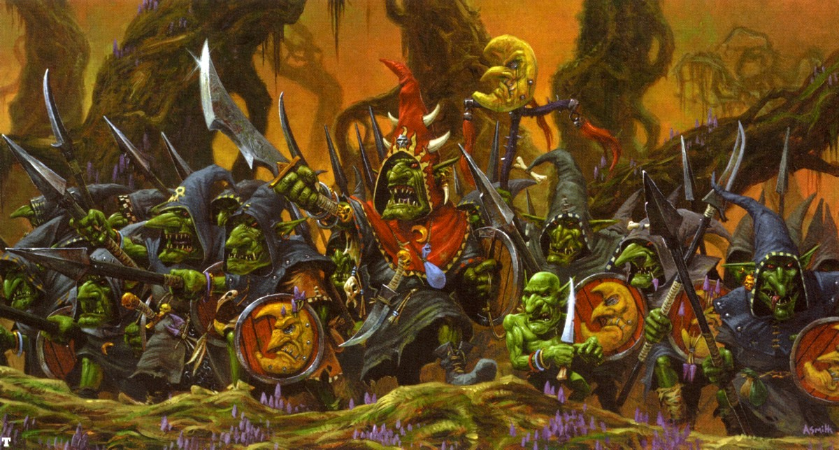 Goblin Battle Line Adrian Smith