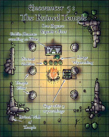 Ruined Temple Map